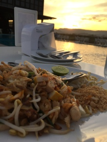 Dinner and a Beautiful View