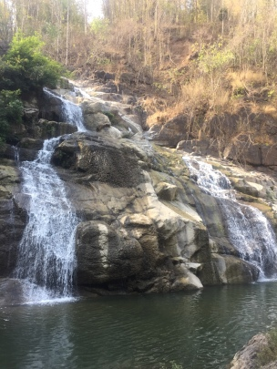 Waterfall near Lomsak